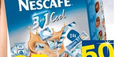 Cafea solubila Nescafe 3 in 1 Cool