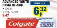 Colgate Advanced White pasta de dinti