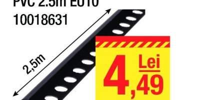 Profil colt exterior PVC EU10