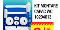 Kit montare capac WC