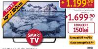 Televizor LED Smart Full HD, HDR, 102 cm, SONY KDL- 40WE665