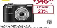 Camera foto digitala NIKON Coolpix A10, 16.1Mp, 5x, 2.7 inch, Red
