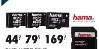 Card Micro SDHC Hama Class 10 cu adaptor