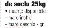 Avantaj, Tencuiala de soclu 25 kg