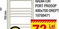 Radiator port prosop 400x700 drept