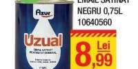 Email satinat negru 0.75 litri