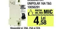 Disjunctor unipolar 16A T&G