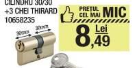 Cilindru 30/30+ 3 chei Thirard