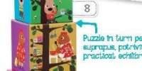 Ilucubo Zoo Turn cu cuburi ilustrate