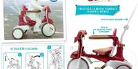 Tricycle Fold & Carry Tricicleta plianta