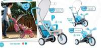 3x3 Evolution Comfort Blue Scaun + tricicleta evolutiva