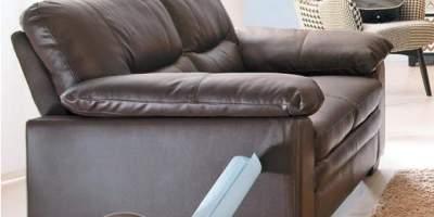 Canapea din piele 2 locuri Carmen