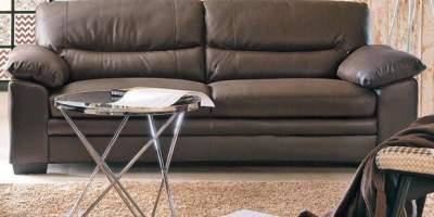 Canapea din piele 3 locuri Carmen