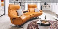 Canapea din piele naturala Easy Confort