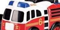Comic-cars! Masinuta de pompieri. Masini cu model de benzi desenate