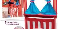 Puppet Theater Teatru din lemn XL