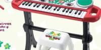 Garageband Show Keyboard Tastatura electronica efecte + taburet