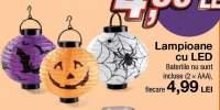 Lampioane cu LED pentru Halloween