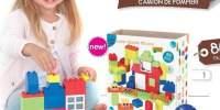 Color Blocks 80 Pcs Joc de constructie cu piese
