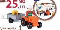 Color Blocks Tractor Joc de constructie cu piese