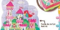 Ilupuzzle Castle Puzzle ilustrat cu 54 piese