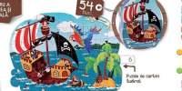 Ilupuzzle Pirate Puzzle ilustrat cu 54 piese