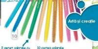 Creart Twist-crayons X12 Ceara carcasa protectie