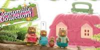 Camomille Whooswhoos Owl Family Animalute Camomille familie bufnite