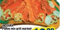 Platou mix-grill marinat