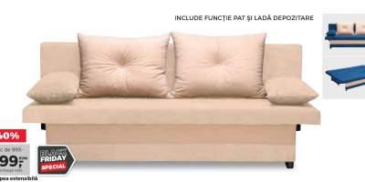 Canapea extensibila Greta