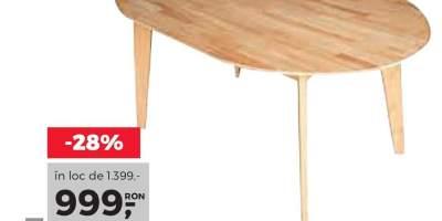 Masa dining din lemn Marvin