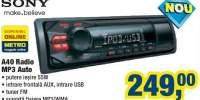 A40 Radio Mp3 Auto Sony