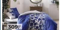 Lenjerie de pat albastra Lizzy