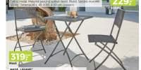 Set mobilier metalic pentru balcon Legano