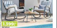 Set mobilier balcon Relax