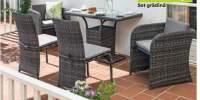 Set mobilier balcon rattan Haiti