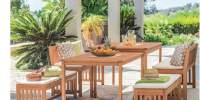 Set mobilier extensibil gradina Brunn