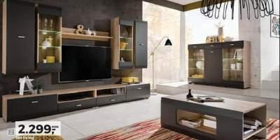 Set Living room - dulap, comoda tv, masuta cafea