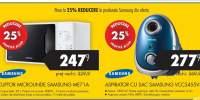 25% reducere la produsele Samsung din oferta