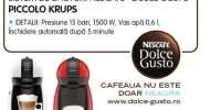 Sistem de bauturi Nescafe Dolce Gusto Piccolo Krups