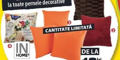 Reduceri intre 25-71 % la toate pernele decorative