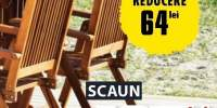 Scaun 5 pozitii Kerteminde lemn