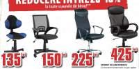 Reducere intre 20-40% la scaunele de birou!