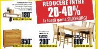 Reducere intre 20-40% la toata gama Silkeborg