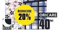 20% reducere la lenjerii de pat