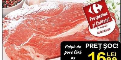 Pulpa de porc fara os