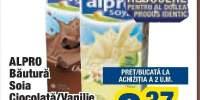 Bautura soia ciocolata/vanilie Alpro