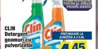 Clin detergent geamuri cu pulverizator