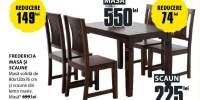 Fredericia masa si 4 scaune