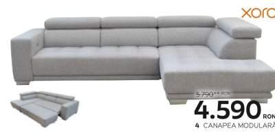 Canapea modulara extensibila living